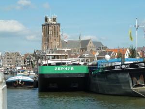 prachtige plek in de Binnen Kalkhaven van Dordrecht